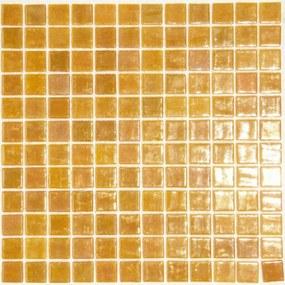 Sklenená mozaika Mosavit Metalico dore 30x30 cm lesk METALICODORE