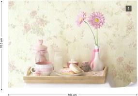 Fototapeta GLIX - Sweet Vintage + lepidlo ZADARMO Vliesová tapeta  - 104x70 cm