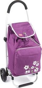 Aldo Nákupná taška na kolieskach Malaga, fialová