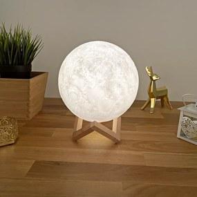 LED svietiaci Mesiac 20cm