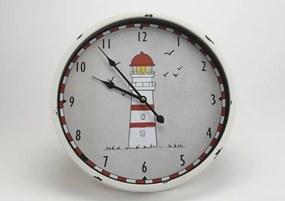 CADES Nástenné hodiny Maják 40 cm
