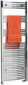 SAPHO - ALYA vykurovacie teleso oblé 500x1118mm, 428W, chróm (1110-05)