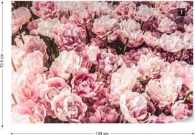 Fototapeta GLIX - Sea Of Flowers + lepidlo ZADARMO Vliesová tapeta  - 104x70 cm