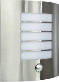 vonkajšie nástenné svietidlo s pohybovým čidlom Massive 1x60W E27