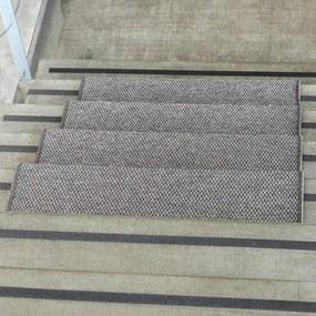 VOPI Nášľap na schody Nature obdĺžnik tmavobéžová, 25 x 80 cm