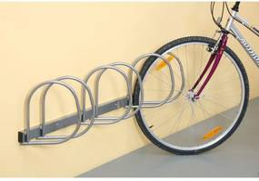 Stojan na bicykle na stenu, 3 miesta