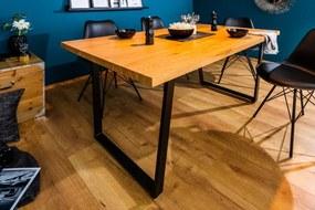 Jedálenský stôl Loft 160cm dub