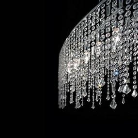 Závesné svietidlo IDEAL LUX Rain Clear SP5 008363