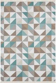 Nouristan - Hanse Home koberce Kusový koberec Kunar 103954 Green/Brown - 180x280 cm