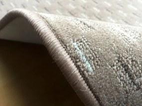 Vopi koberce Běhoun Valencia béžová - šíře 40 cm s obšitím