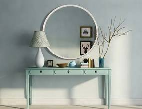 Zrkadlo Etta white z-etta-white-1163 zrcadla