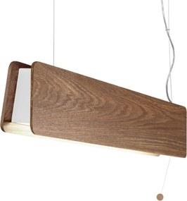 LED závěsné svítidlo Nowodvorski 9314 OSLO dub
