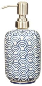 sass & belle Porcelánový dávkovač na mydlo Blue Wave