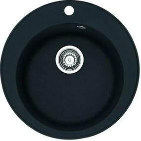 FRANKE drez guľatý 500 mm čierný RID610C