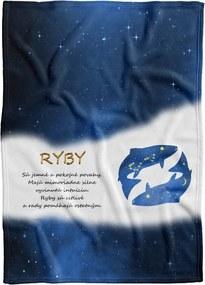 Deka Znamenie Ryby  (21.1. - 20.3.) - modrá