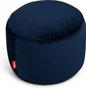 "Sedací vak / puf ""point velvet"", 7 variantov - Fatboy® Farba: dark blue"