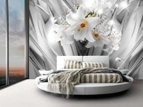 Murando DeLuxe Ocelové lilie 150x105 cm