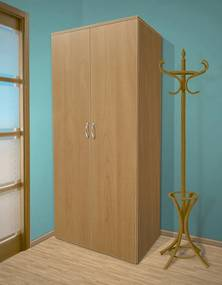 Nabytekmorava Šatníková skriňa do spálne Alfa 18 farba lamina: olša (olše)