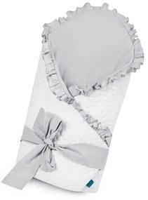 BELISIMA Belisima Králiček Zavinovačka s mašľou Belisima Králiček bielo-sivá Biela |