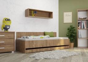 WOOD SERVICE Rozkladacia posteľ Monika 80 x 200