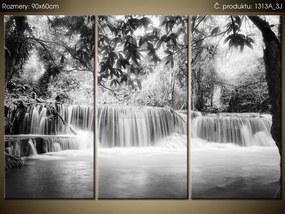 Tlačený obraz Nad vodopádom v Thajsku 90x60cm 1313A_3J