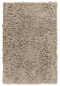 Béžová kúpeľňová predložka Wenko Chenille, 80 × 50 cm