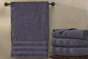 XPOSE ® Froté ručník CHINGY - tmavě šedá 50x90 cm