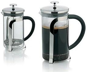 KELA Kanvička na čaj a kávu French Press 700 ml, nerez KL-10851