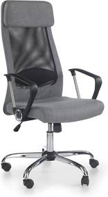 HALMAR Zoom kancelárska stolička s podrúčkami čierna / sivá