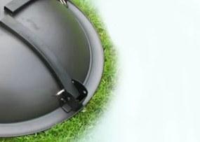 NABBI MIR-064 záhradný gril čierna