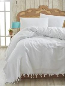 Ľahká prikrývka na posteľ Cintan White,200x240cm