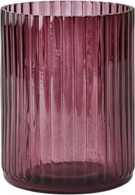 Váza KJ Collection Bordeaux, 15cm