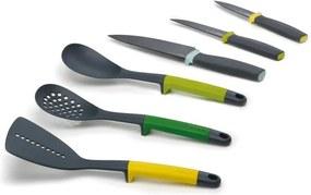 Set 6 nástrojov a nožov Joseph Joseph Elevate Opal
