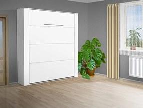 Nabytekmorava Výklopná posteľ VS 3070P, 200x180 cm nosnost postele: štandardná nosnosť, farba lamina: biela 113