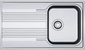 Franke Smart SRX 611-86, 860x500 mm, nerezový drez 101.0395.016