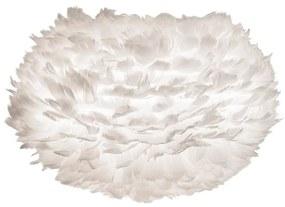 Biele tienidlo z husieho peria VITA Copenhagen EOS, Ø 45 cm