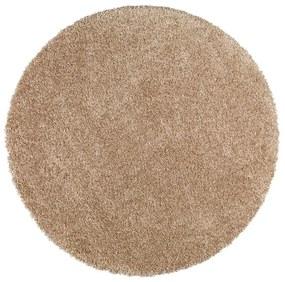 Svetlohnedý koberec Universal Aqua Liso, ø 80 cm