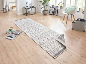 Bougari - Hanse Home koberce Kusový koberec Twin Supreme 103437 Kuba grey creme - 80x150 cm