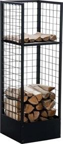 Stojan na palivové drevo Forrest 40x40x120, kov