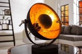 Stolná lampa Studio 40cm čierna- zlatá