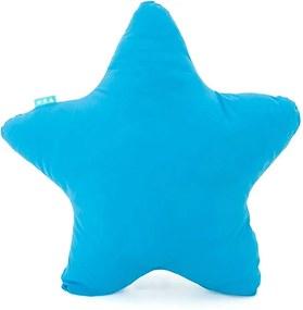 Tyrkysový bavlnený vankúšik Happy Friday Basic Estrella Turquoise, 50 x 50 cm