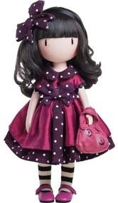 Santoro London - Bábika - Gorjuss - Ladybird Růžová, fialová, čierna, biela