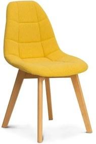 OVN stolička WESTA žltá