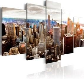 Obraz - Grey Tower Blocks 200x100