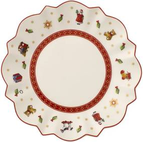 Biely tanier na maslo/chlieb 17 cm Toy's Delight