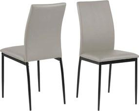 Bighome - Jedálenská stolička DEMINA, taupe