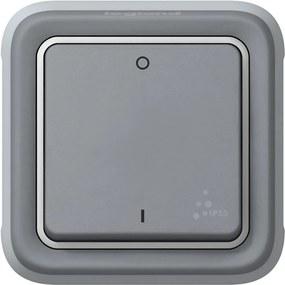 Legrand Spínač PLEXO 69530 / dvojpólový, šedý