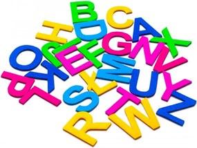 MagWord Magnetická abeceda filc - veľké písmená mix