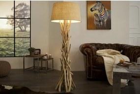 Stojaca lampa 30208 Ø50cm Drevo-Komfort-nábytok