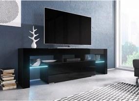 CAMA MEBLE TV stolík TORO 138 Farba: čierna